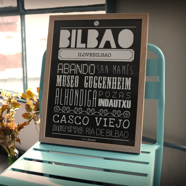 Poster Bilbao, Tienda Online Ilovebilbao, Bilbolovers